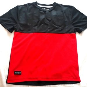 RBX X-Train Boys Size 8 Red and Black Active Tee